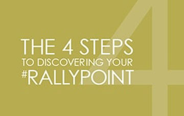 4 steps to discovering your brand's #RALLYPOINT [GUIDE]