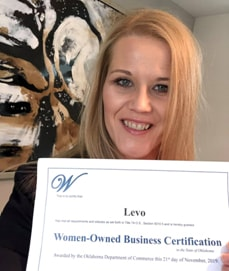 Levo earns certification as a women-owned small business