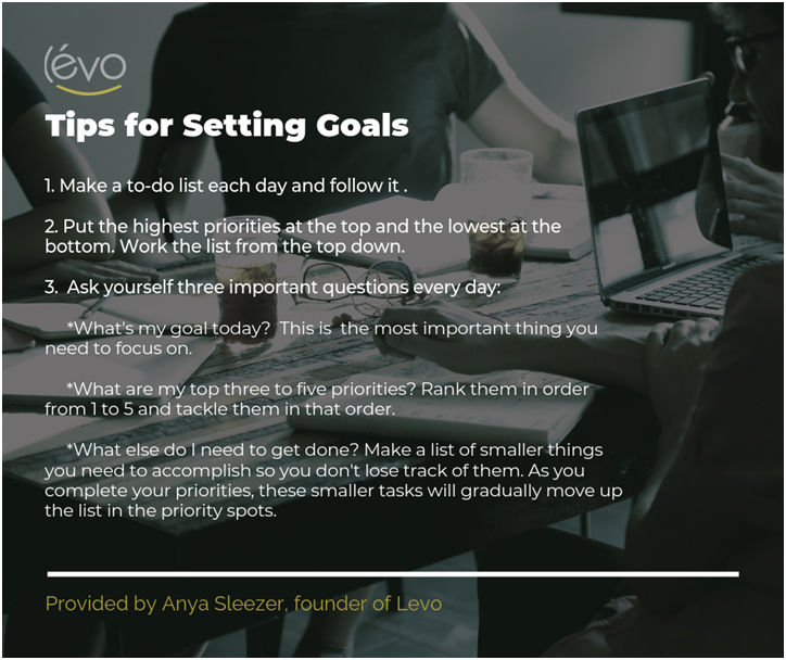 Tips for Setting Goals