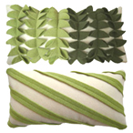 Hand-made pillows with certified organic materials by Looolo